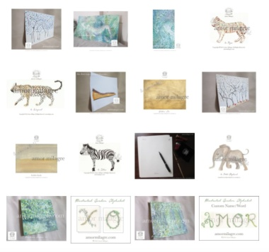 amormilagre.com Organic Recipes, Paleo, Healthy. Artwork, Stationery, Organic Apparel, and Custom Gifts.