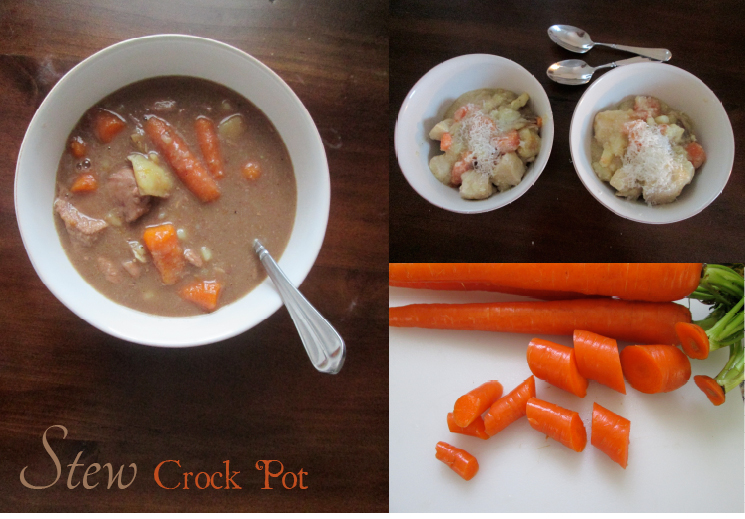 Stew in Crock Pot, Photography and Recipes by amormilagre.com