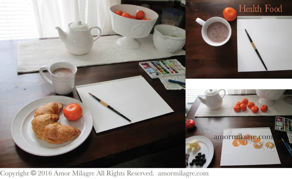 Painter's Food, Photography and Recipes by amormilagre.com, Original Artwork in our SHOP!