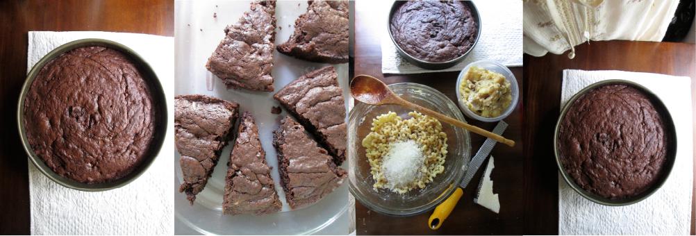 Chocolate Chip Brownies and making picnic food, macaroni/potato salads, Photographs by amormilagre.com