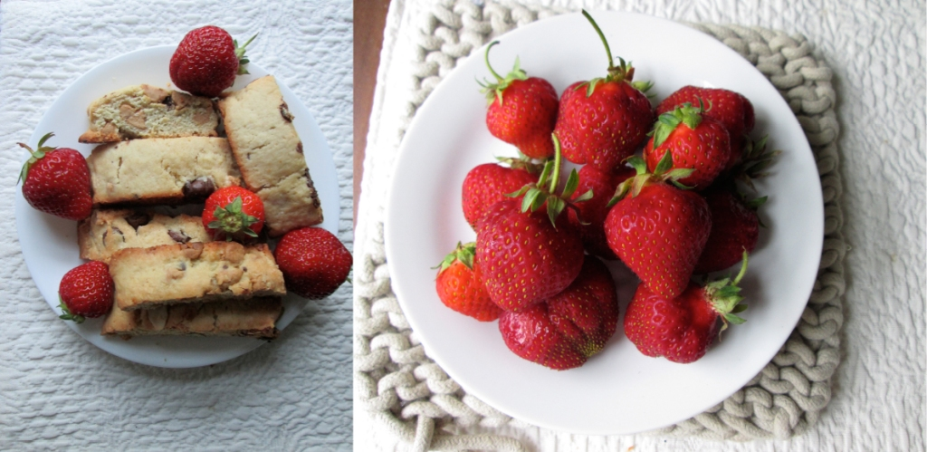 Italian Biscotti, Prosciutto Wrapped Beef Fillet, Farm Fresh Strawberries, Recipe and Photography by amormilagre.com