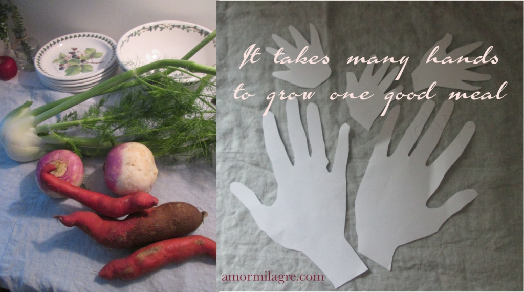 Beef Roast, Japanese Sweet Potatoes, and Painted Hands Recipe and Photography by amormilagre.com Organic Recipes, Paleo, Healthy. Artwork, Stationery, Organic Apparel, and Custom Gifts. Watercolor, baby's christmas, holiday, tracing, crafts for kids, homemade handmade gifts, DIY.