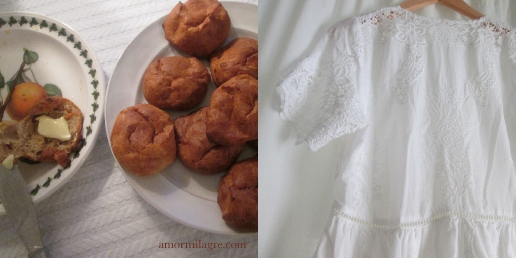 Parmigiano Reggiano Cheese Puffs, Spice Cake, Swiss Chard Vegetable Soup Recipes and Photography by amormilagre.com Organic Recipes, Paleo, Healthy. Artwork, Stationery, Organic Apparel, and Custom Gifts. Baby's first foods. Sugar-free, paleo, gluten-free, organic. White lace cotton dress, light pink organic silk ruffle blouse